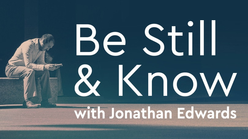 Be Still And Know Web Banner