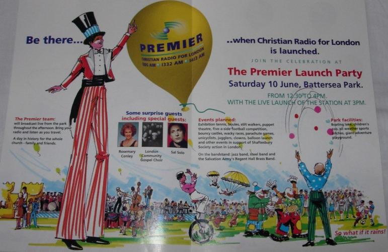 Premier Launch Programme