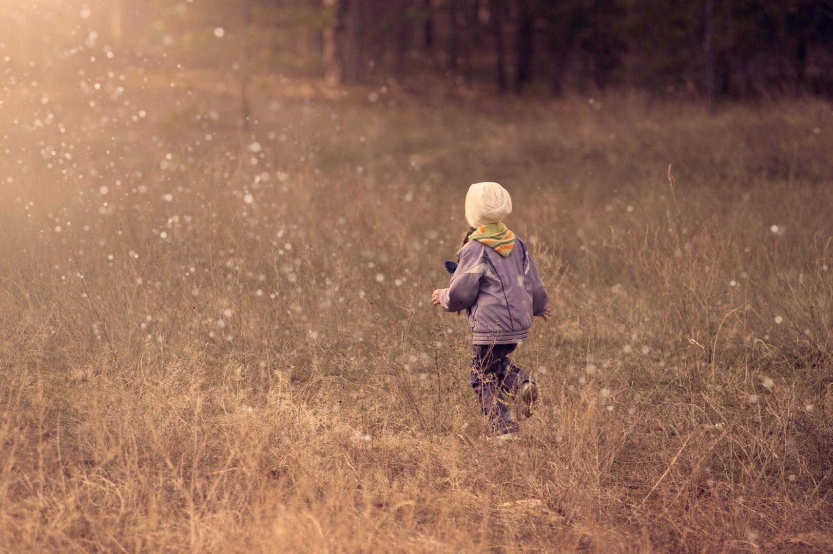Girl In Fields