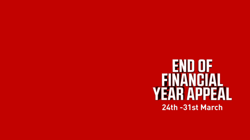 End Of Financial Year Appeal2021